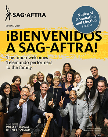 SAG-AFTRA - Digital Special Issue 2017