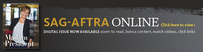 SAG-AFTRA Online - Click Here to View