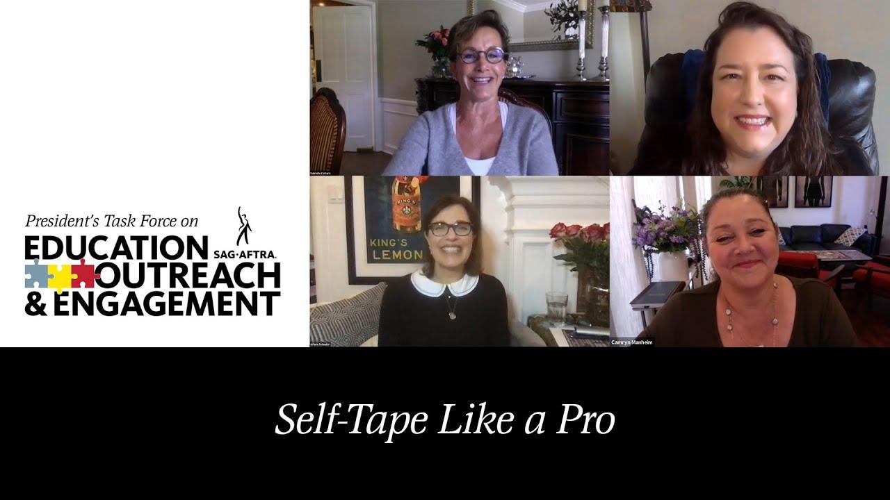 PTEOE presenta la cinta autoadhesiva como un profesional con la directora de casting de comerciales Arlene Schuster, CCDA