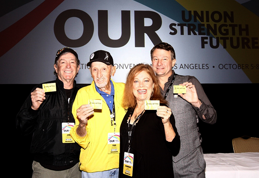 Arizona-Utah 2017 convention delegates Joe Corcoran, Ted Raymond, Margie Ghigo and Billy Holden