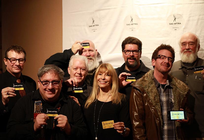 SAG-AFTRA members at the SAG Awards viewing party, Salt Lake City.