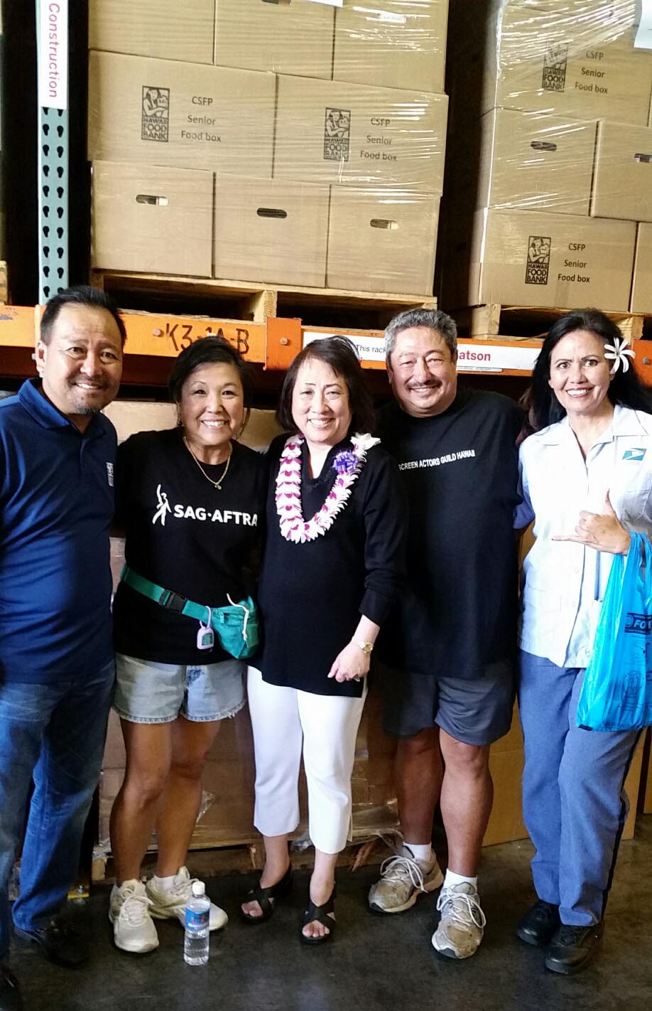 Leanne Teves with Rep. Colleen Hanabusa
