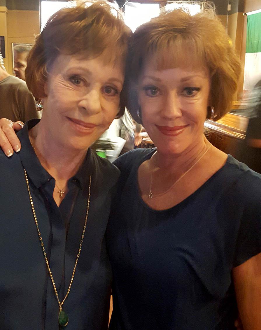 Carol Burnette and Sally Davis