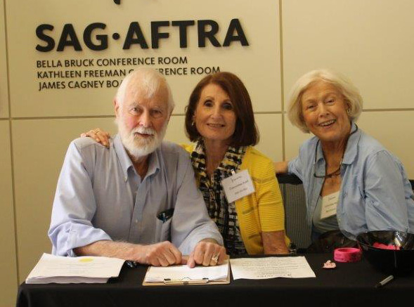 Los Angeles Local Seniors Committee members David Westberg and Joan Del Mar with Los Angeles Local Seniors Committee member and Los Angeles Local Board member Mimi Cozzens.