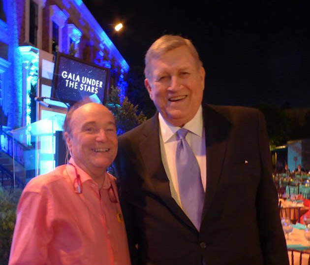 Local President David Farmer with late President Ken Howard