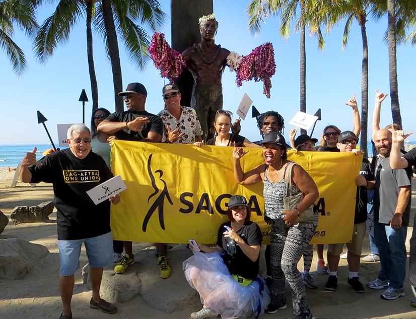Members in Waikiki
