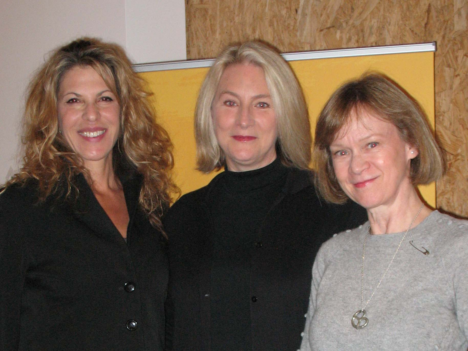 Abby Dylan, Susan Ericksen and Sandy Thomas