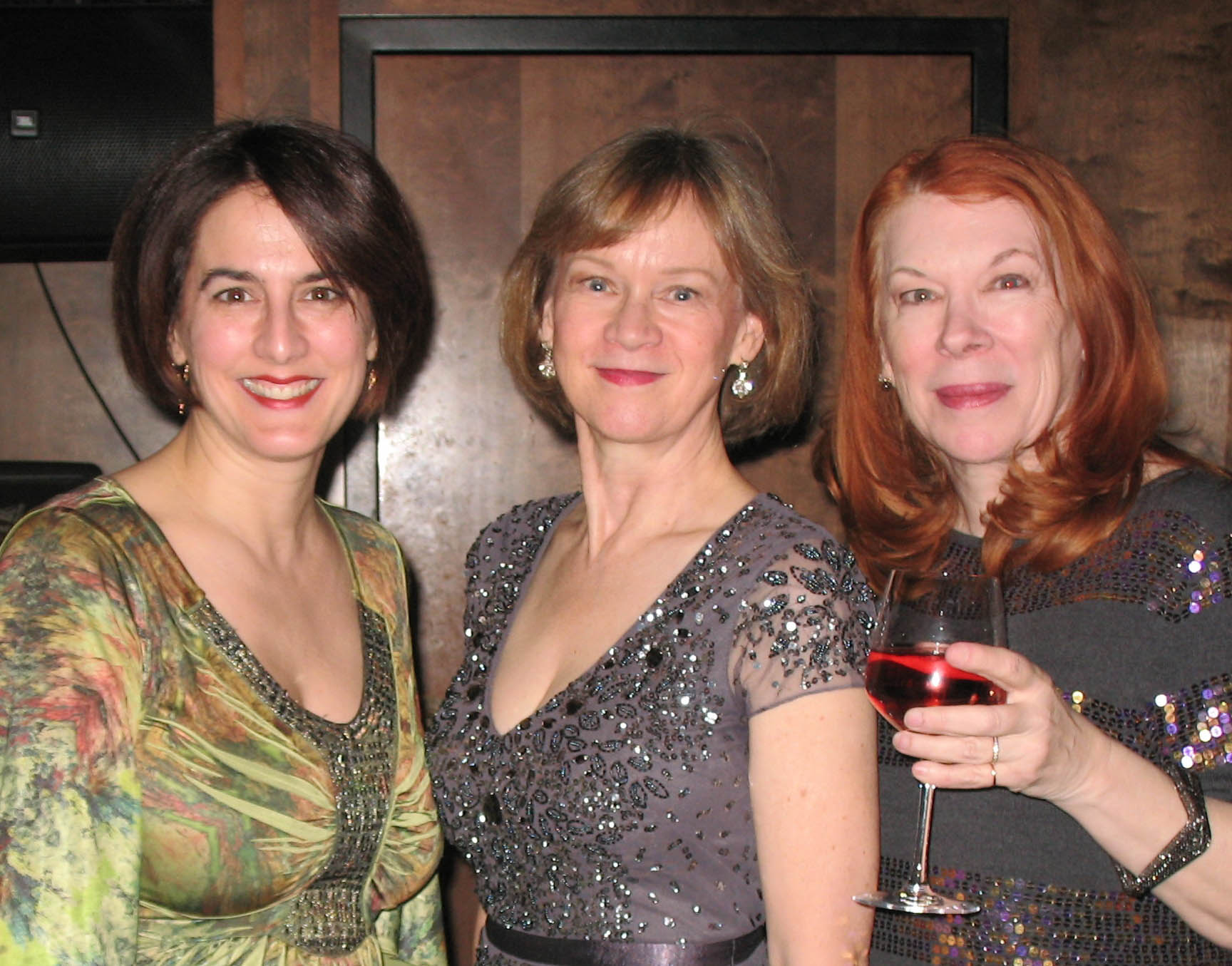 Elena Giannetti, Sandy Thomas and Shelli Place
