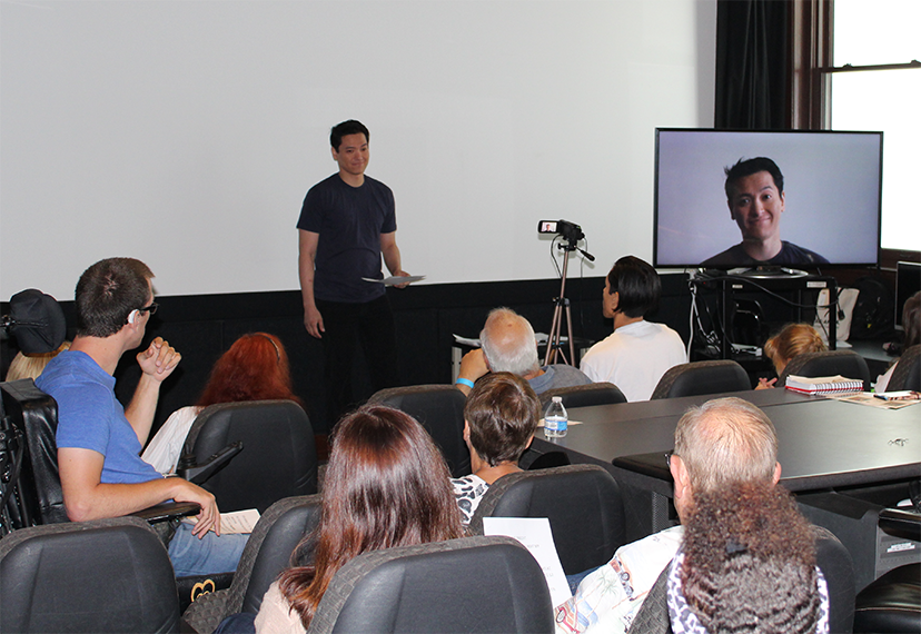 SAG-AFTRA Los Angeles Conservatory members enjoy the opportunity for one-on-one on-camera instruction on the AFI campus.