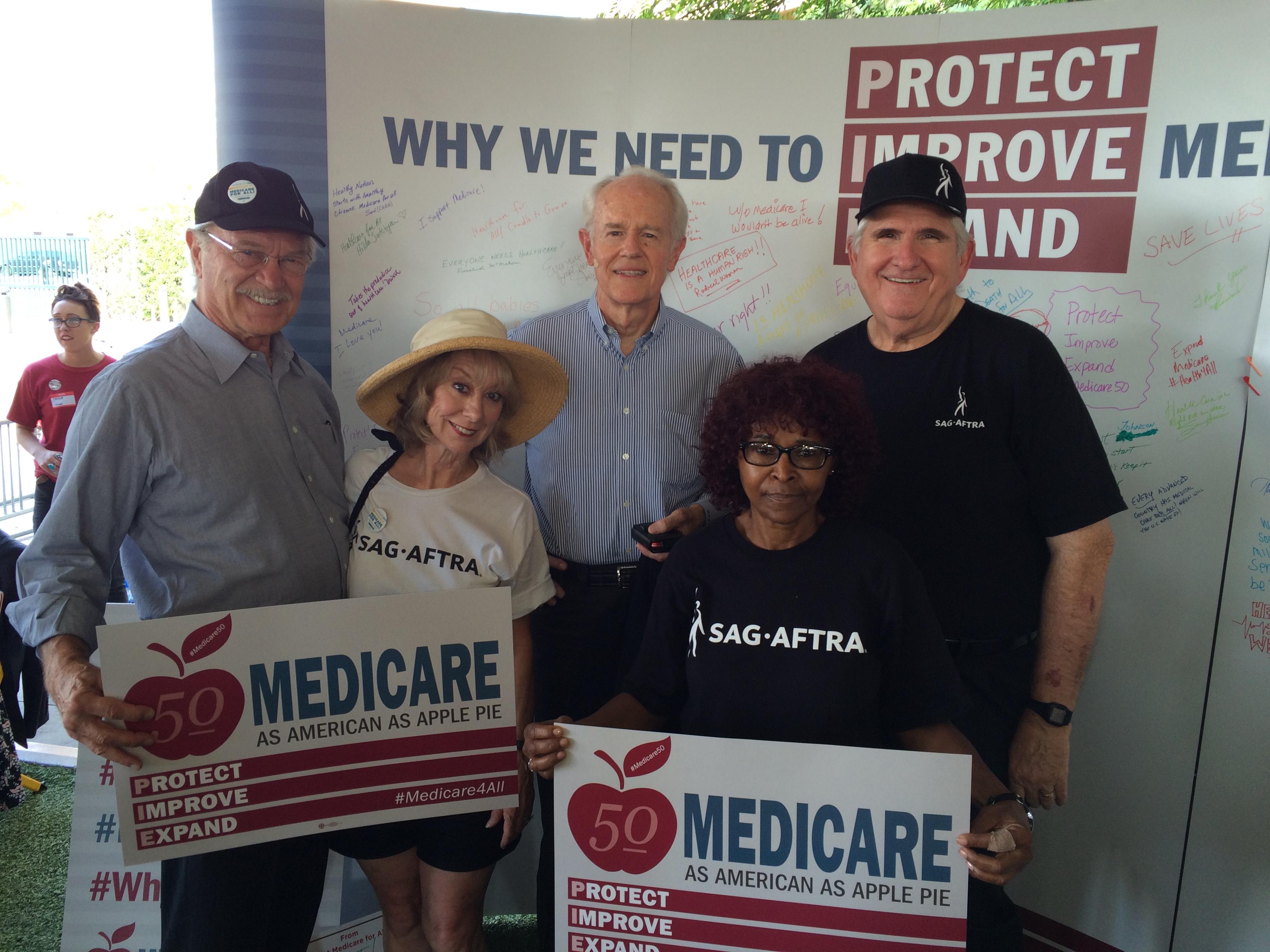 Medicare rally