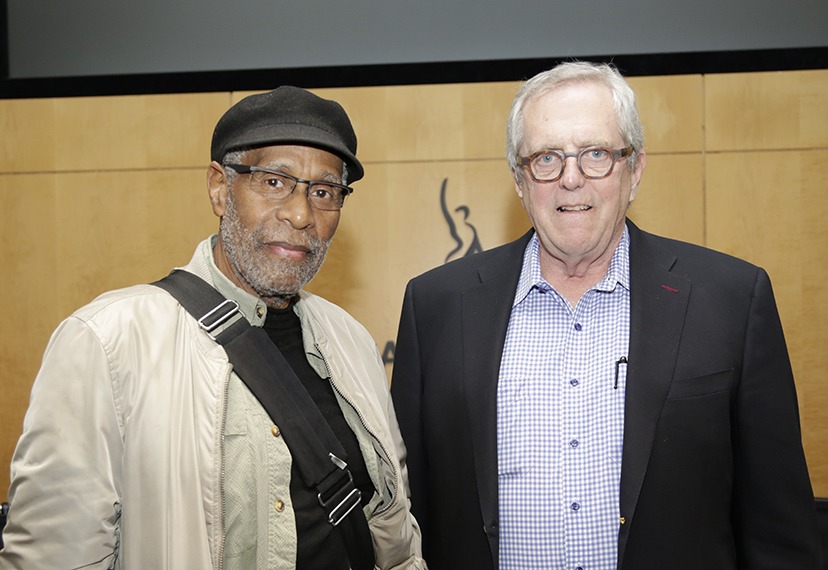 Bennie Maupin and John Beug