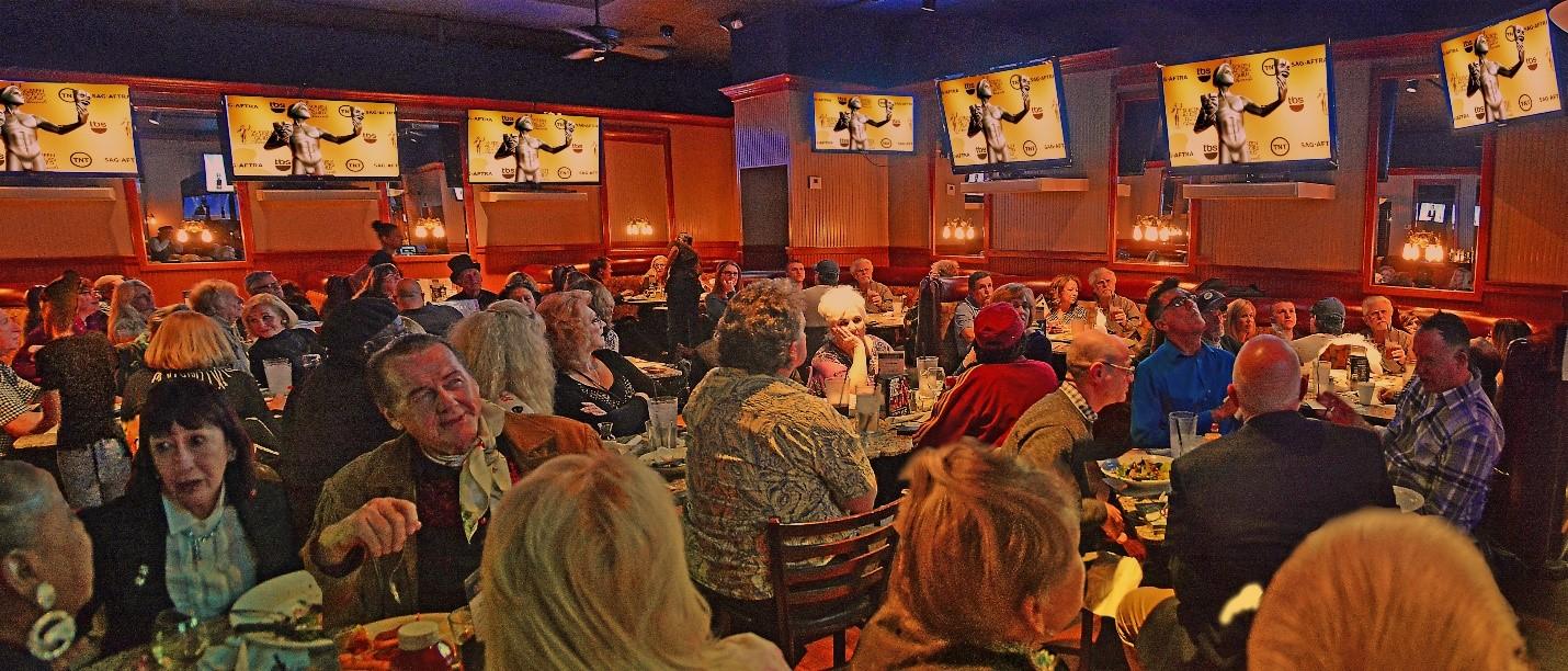 SAG-AFTRA members and guests at the SAG Awards Viewing Party, Phoenix.
