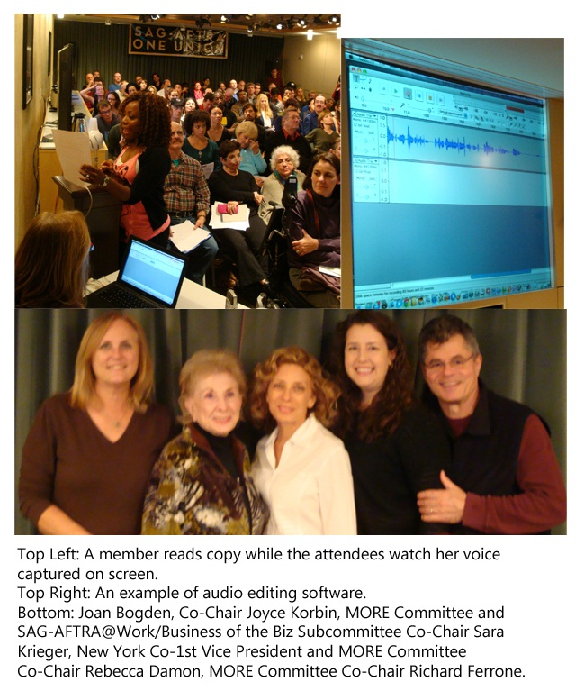 SAG-AFTRA@Work/Business of the Biz: Breaking Into Voiceovers