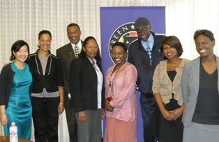 Rebecca Yee, Shoshana Vogel, Bernie Casey,  Aisha Coley, L. Scott Caldwell, Bill Duke, Kendra Carter and Odetta Watkins