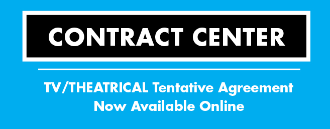 Contract Center: TV/Theatrical Tentative Agreement