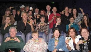 Members show their pride at Regal Green Hills Cinema.