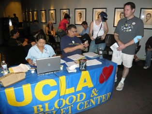 sag/ucla blood drive