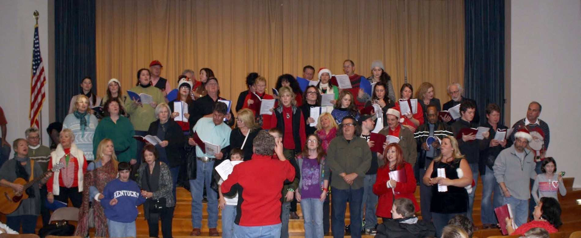 The SAG-AFTRA Nashville Choir