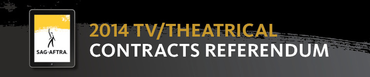 2014 TV/Theatrical Contracts Referendum