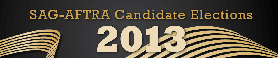 SAG-AFTRA 2013 Candidate Elections