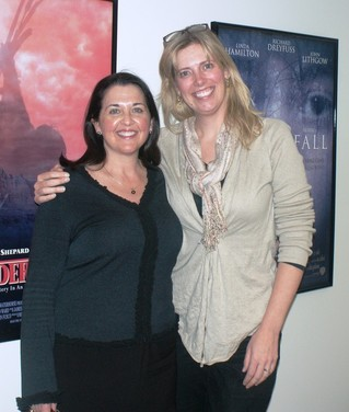 Casting directors Anne Chapman (left) and Erica Arvold at the Washington–Mid Atlantic Local office on Monday, March 11.