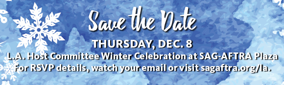 Save the Date - Winter Celebration