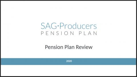 Video del plan de pensiones para productores de SAG