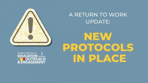 'Actualización de regreso al trabajo: Nuevos protocolos implementados'