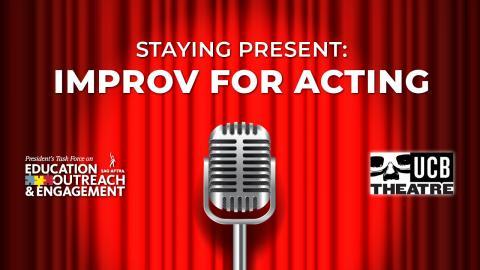 'Mantenerse presente: improvisación para actuar'