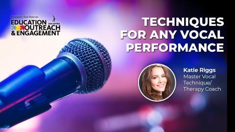 'Conozca las reglas antes de romperlas: técnicas para cualquier interpretación vocal'