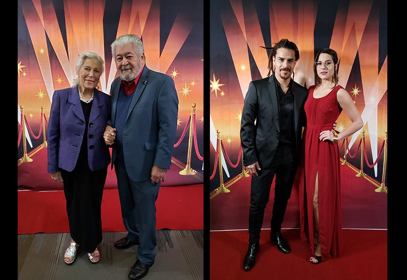 Awards night in Miami was a great time for couples. Left, members Elizabeth Perry and Julio Torresoto; right, member Fabian Hernandez and his guest, Anama Yanquez.