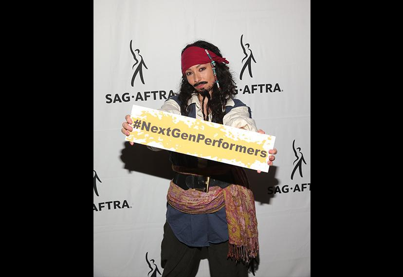 """""""Jack Sparrow"""" muestra cierta solidaridad con NGP."""