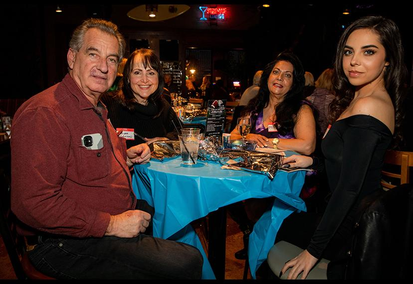 These Nevada Local partygoers have saved a place at the table for you! Shane O'Neal/SAG-AFTRA