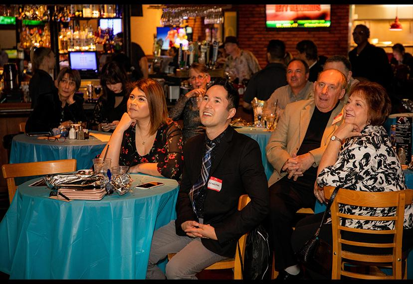 Members watch intently as awards night unfolds. Shane O'Neal/SAG-AFTRA