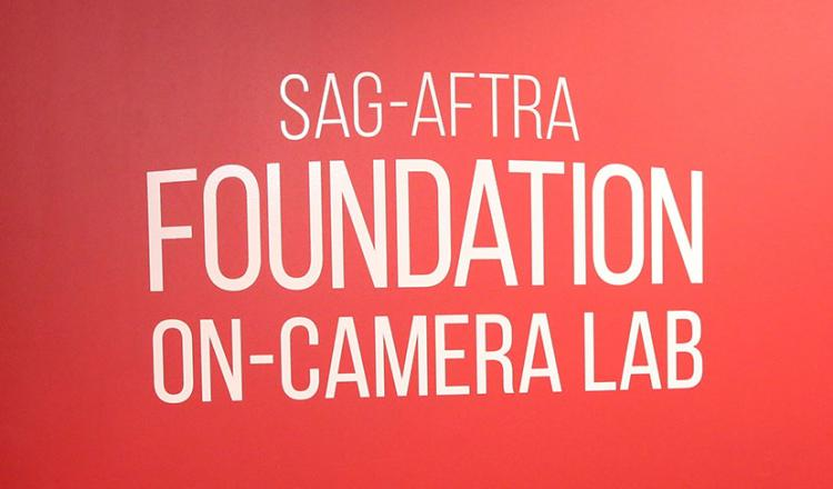 SAG-AFTRA Foundation On-Camera Lab sign