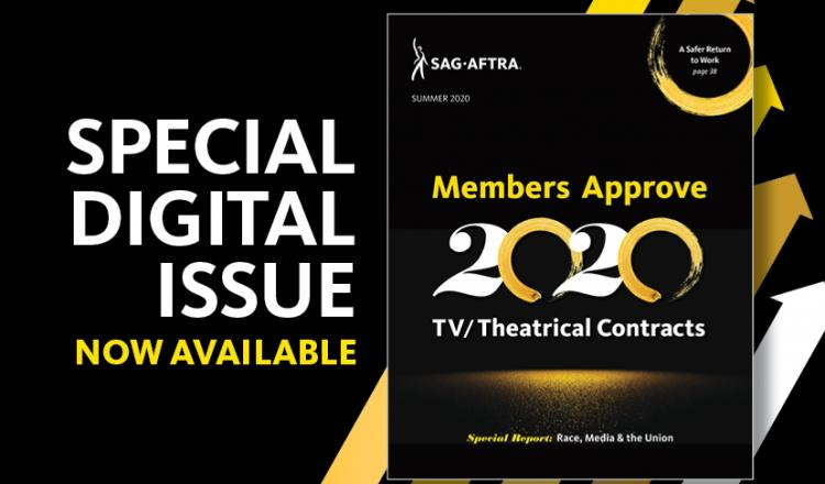 SAG-AFTRA magazine Enhance Digital Issue now available!