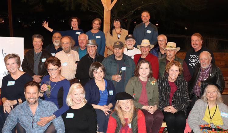 Members at the first Arizona-Utah Local Cactus Connection in Tucson.