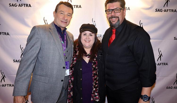 Arizona-Utah Local Vice President, Utah, Billy Holden; casting director Emily Ann Roth; and member Dale McKeel.