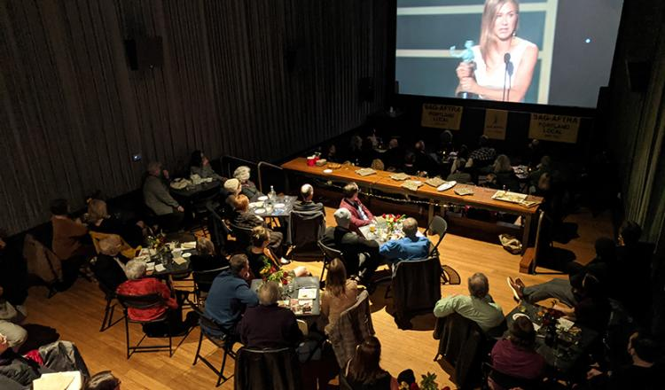 It was a full house at the 2020 Portland SAG Awards viewing party. Photo by Harold Phillips.