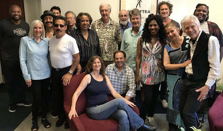 Attendees at the SAG-AFTRA SF-NorCal Conservatory