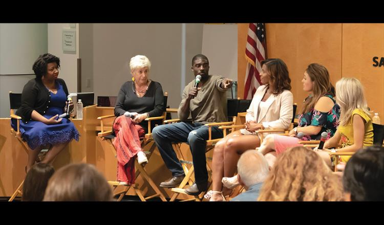 L.A. Conservatory members pick up practical tips for producing their own projects from a group of successful multihyphenate entertainment industry professionals at the L.A. Conservatory Summer Intensive opening night panel.