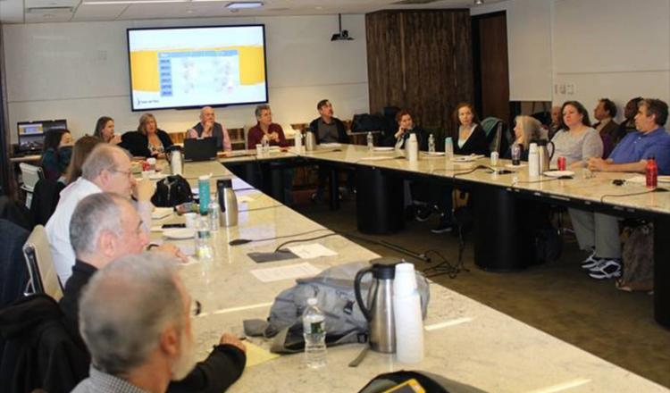 The National Audiobook Steering Committee on March 3.