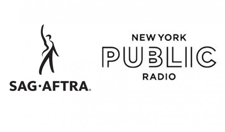 SAG-AFTRA Logo & New York Public Radio