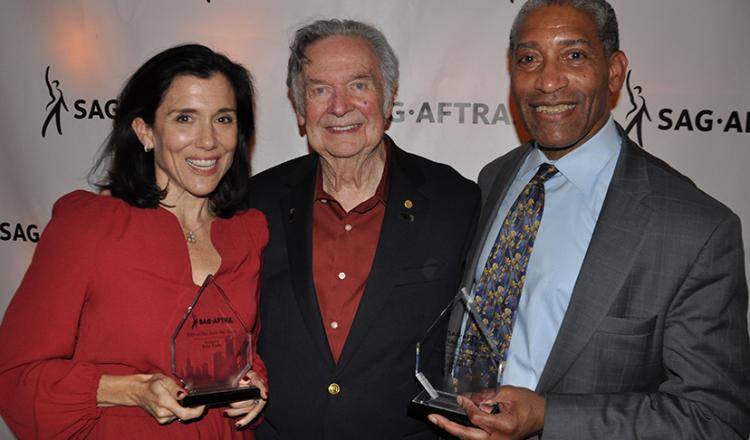 From left, Ilyssa Fradin, Bob Baron and Craig Dellimore