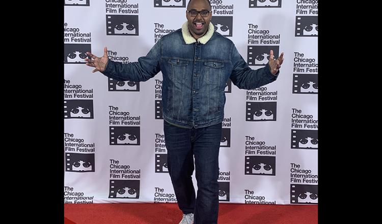 Troy Pryor at the 2019 Chicago International Film Festival.