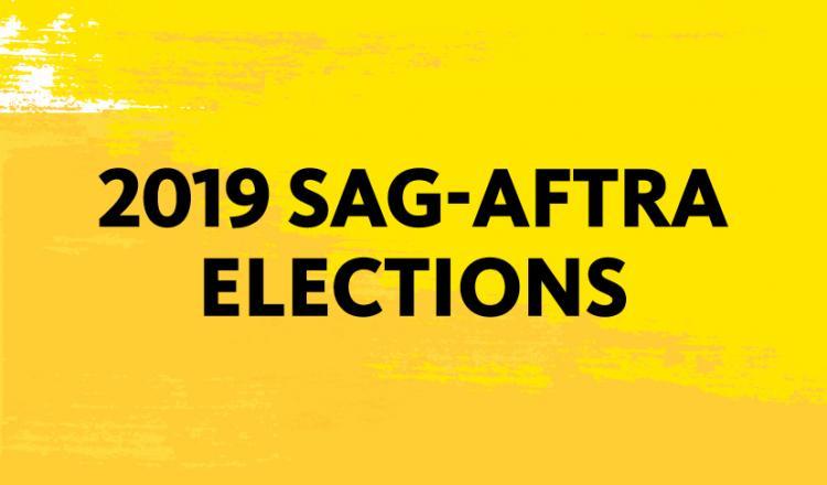 2019 SAG-AFTRA Elections