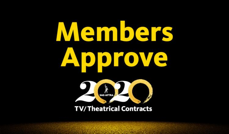 """Members Approve"" above 2020 TV/TH logo with black background"