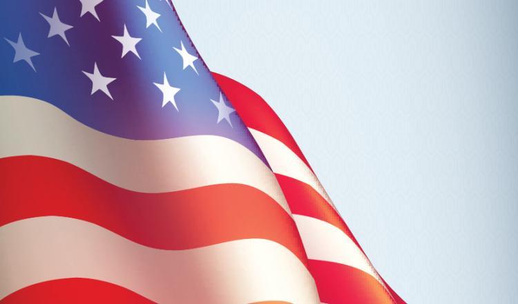 Foto de la bandera estadounidense