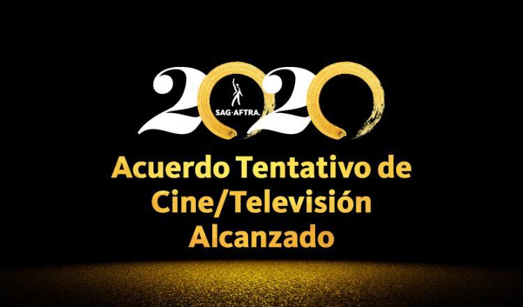 Acuerdo Tentativo de Cine 2020 / Televisión Alcanzado
