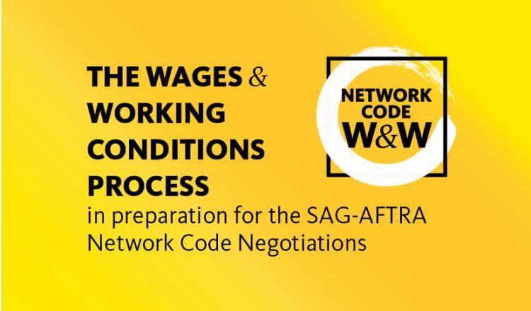 El proceso de salarios y condiciones laborales para las negociaciones del código de red de 2021